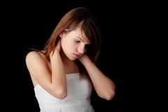 Depresión del adolescente Fotografía de archivo