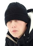 Depresión del invierno Foto de archivo libre de regalías