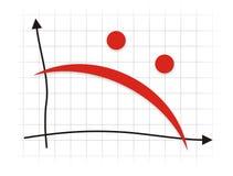 Depresión en el intercambio ilustración del vector