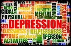 Depresión Fotografía de archivo