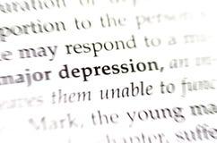 depresja Zdjęcie Stock