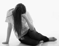 Depresja i stroskanie Fotografia Royalty Free