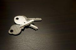 Depresja klucza klucze Fotografia Royalty Free