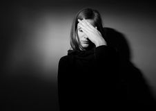 depresja surowa Fotografia Stock