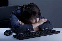 depresji cierpienia kobieta obrazy stock