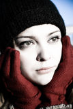 depresji kobieta Zdjęcia Stock