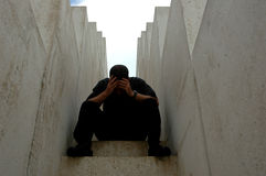 Depressão Fotografia de Stock Royalty Free