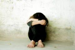 A depressão Foto de Stock