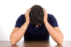 Depressão e falha Fotos de Stock