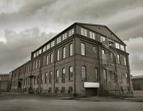 Depressão industrial da fábrica Fotos de Stock Royalty Free