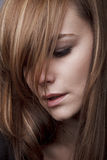 Depressed beauty Stock Photo