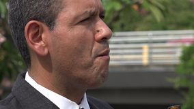 Depressed Business Man, Alcoholic stock footage
