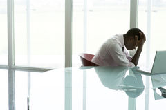 Depressed Businessman Stock Photography