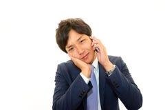 Depressed businessman. Royalty Free Stock Image
