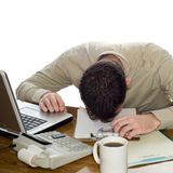 Depressed Businessman Stock Images