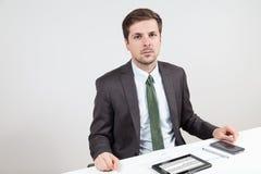 Depressed businessman Royalty Free Stock Image