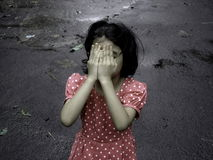 Depressed Child Stock Images