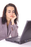 Depressed employee Royalty Free Stock Photo