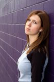 Depressed Girl Stock Images