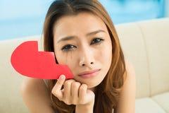 Depressed girl Stock Photos