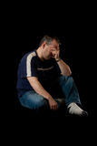 Depressed man Royalty Free Stock Photography