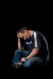 Depressed man Royalty Free Stock Photos
