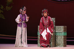 """Depressed old lady-Kunqu Opera """"the West Chamber"""" Royalty Free Stock Photos"""