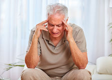 Depressed old man. Stock Photography