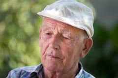Depressed old man Royalty Free Stock Photos