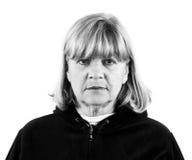 Depressed Senior Woman Stock Photos