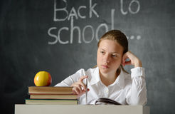 Depressed student Royalty Free Stock Photography