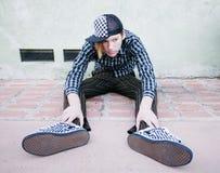 Depressed Teenage Boy Royalty Free Stock Photography