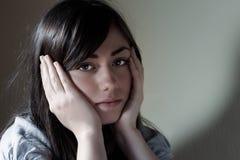 Depressed teenager Stock Photos
