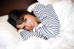 Depressed woman Royalty Free Stock Photo