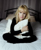 Depressed woman Royalty Free Stock Images