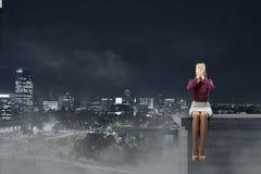 Depressed woman Stock Photo