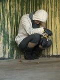 Depressie en verdriet Royalty-vrije Stock Foto
