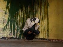 Depressie en verdriet Stock Afbeelding