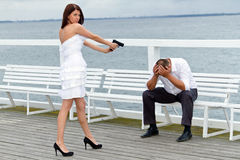 Depressing marriage Royalty Free Stock Photography