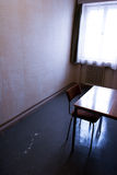 Depressing room scenery Stock Photo