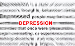 Depression Royalty Free Stock Image