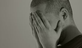 Depression royalty free stock photography