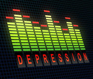 Depression concept. Stock Photography
