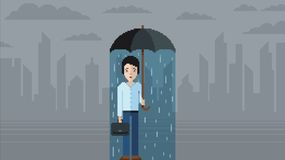 Depression concept - pixel art video game style vector illustration. Depression concept, sad man - pixel art video game style vector illustration vector illustration