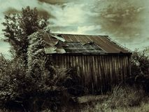 Depression Era Farm House Royalty Free Stock Images
