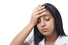 Depression or headache Stock Photos