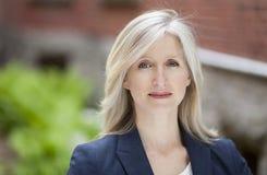 Depression Of A Mature Businesswoman Stock Photos