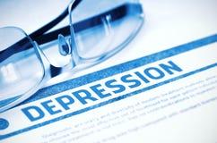 depression medicina ilustração 3D Imagens de Stock
