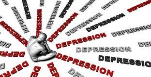Depression Stock Images