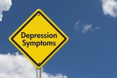 Depression Symptoms Warning Sign Stock Images